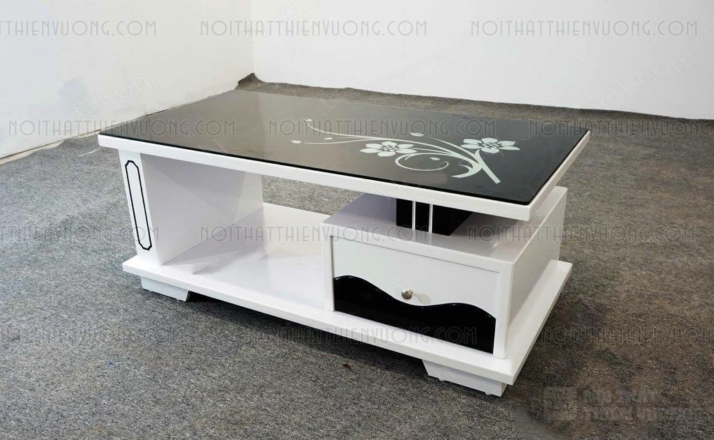 thanh lý bàn trà hình chữ nhật