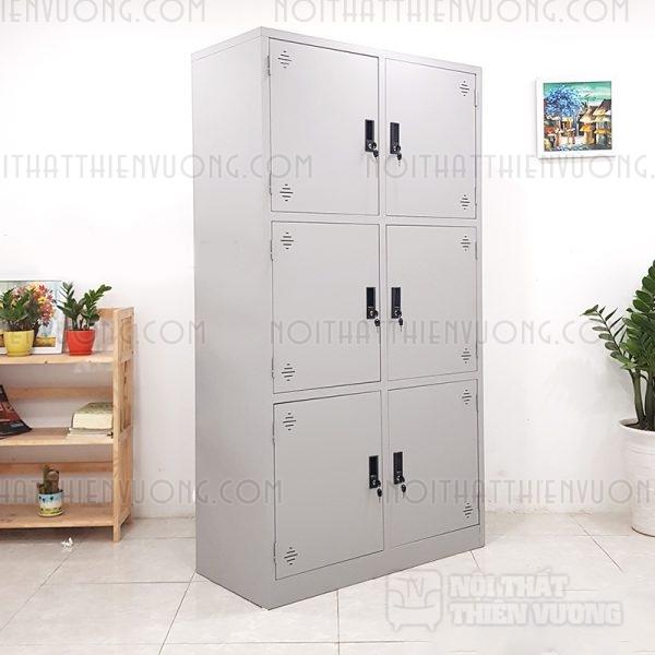 tủ sắt 6 ngăn