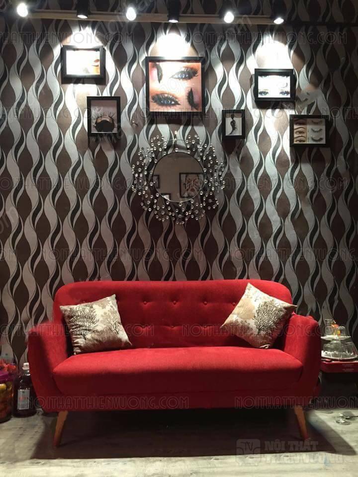 sofa văng đỏ một mùa giá rẻ